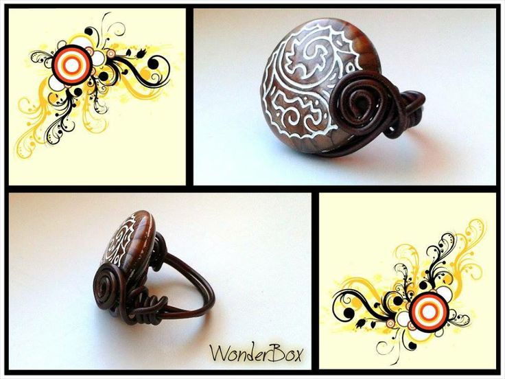 Ring from wire
