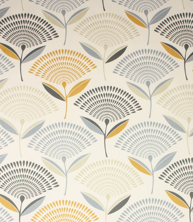 Dandelion fabric is a striking contemporary fabric with an unusual modern floral pattern design.   http://www.justfabrics.co.uk/curtain-fabric-upholstery/saffron-dandelion-fabric/
