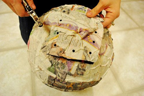 How to make a pull-string pinata