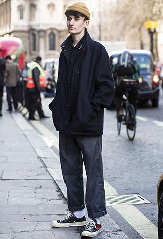 london fashion week street styler