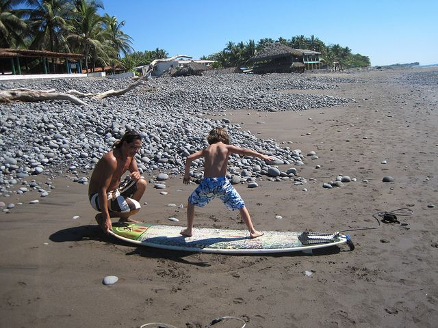 Did you know that El Salvador is one of the best places for surfers in Central America? There are even several places where you can find surf lessons for kids - Come for a surf lesson with me and my family http://travelexperta.com/2011/01/el-salvador-spotlight-surf-lessons-in-playa-tunco-playa-sunzal.html #ElSalvador #surflessons #beach