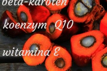 Olej z czerwonej palmy beta karoten Cera opalenizna filtry uv zdrowa żywność zdrowe oleje