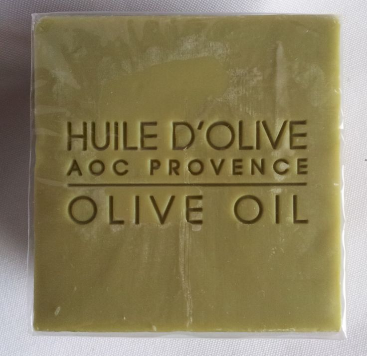 Savon de Provence (olive oil soap)