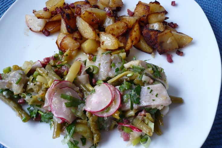 'Matjes - Bohnensalat'