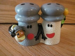 Salt And Pepper And Their Baby Paprika! Too Stinking Cute
