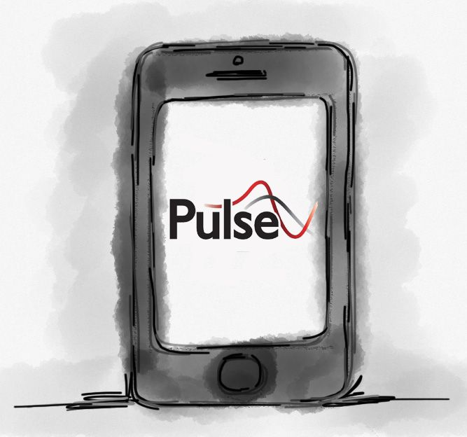 Pulse. The Complete Enterprise Mobility Software Package.  It's a software for use on a hand-held device.Pulse will enable you to manage your mobile assets in a way that no other enterprise mobility software package on the market currently offers.