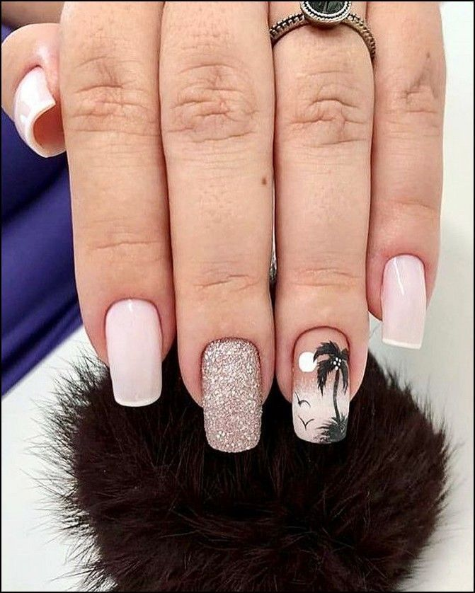 Https Www Hairstlyless Pingle Site Acryl Beach Nails Designs