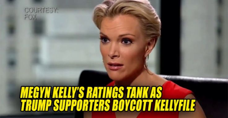 WOW: Megyn Kelly's Ratings TANK As Trump Supporters Boycott Kelly File - flushed out of the rathole - she is an HRC operative infiltrating a conservative news network - take your deceiving snake in the grass lawyer a$$ to Clinton News Network where you belong