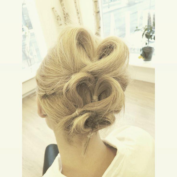 Hjerter i hår  Valentines hair