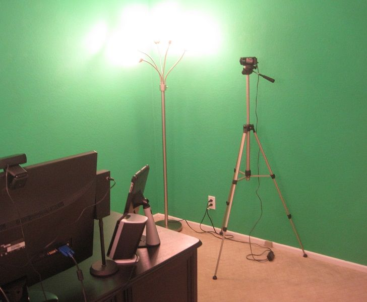 proper lighting. that equals about 17 feet of wall space 13 it without obstructions i still have to get some proper lighting for the set