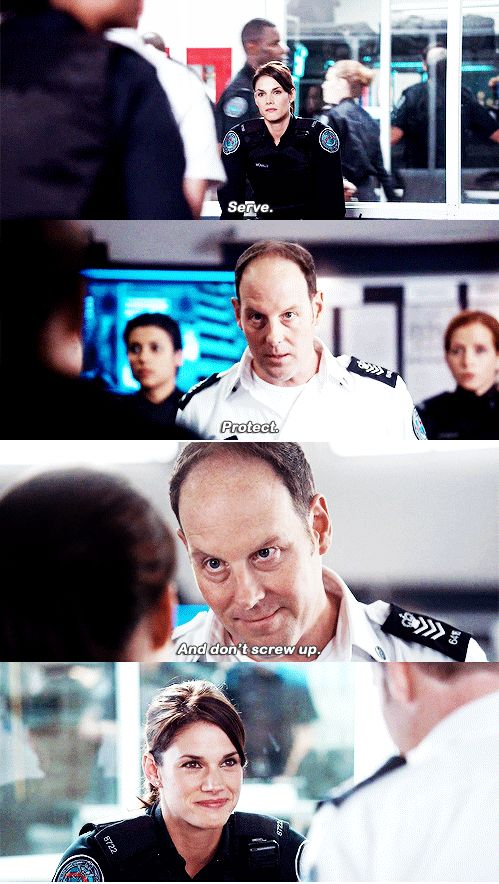 Rookie Blue S6 E11 :') Love Oliver and Andy