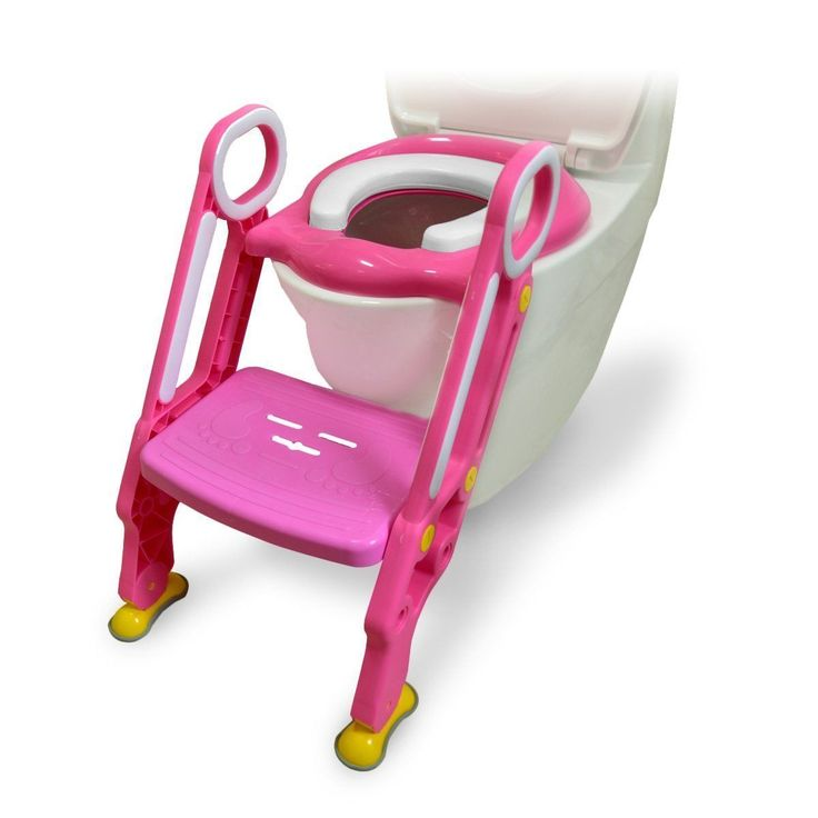 Ostrich Toilet Step Trainer Ladder for Kid and Baby Childrens Toilet Seat