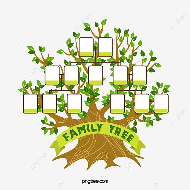 แผนภ ม ต นไม ครอบคร ว ต นไม ใหญ สมาช ก กรอบร ปภาพ Png และ Psd สำหร บดาวน โหลดฟร Family Tree Template Family Tree Family Relationships