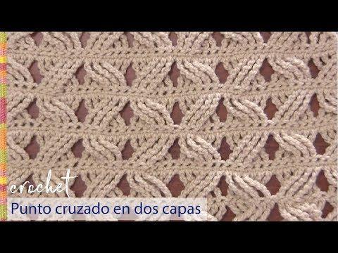 Crochet : Punto Fantasia #4 - YouTube