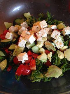 Krea10vmamma: Salat med fetaost