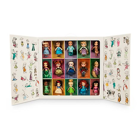 disney animators 39 collection mini doll gift set 5 39 39 disney animators collection pinterest. Black Bedroom Furniture Sets. Home Design Ideas