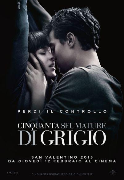 CINQUANTA SFUMATURE DI GRIGIO, il piccante adattamento del bestseller che è diventato un fenomeno globale ... al #cinema dal 12 febbraio 2015  ... #film #trailer