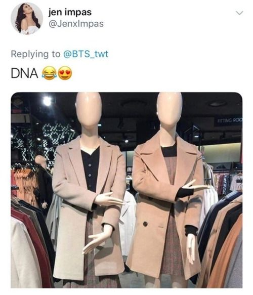 If I worked in a clothing store I'd arrange all the manicans in different kpop poses and see who notices