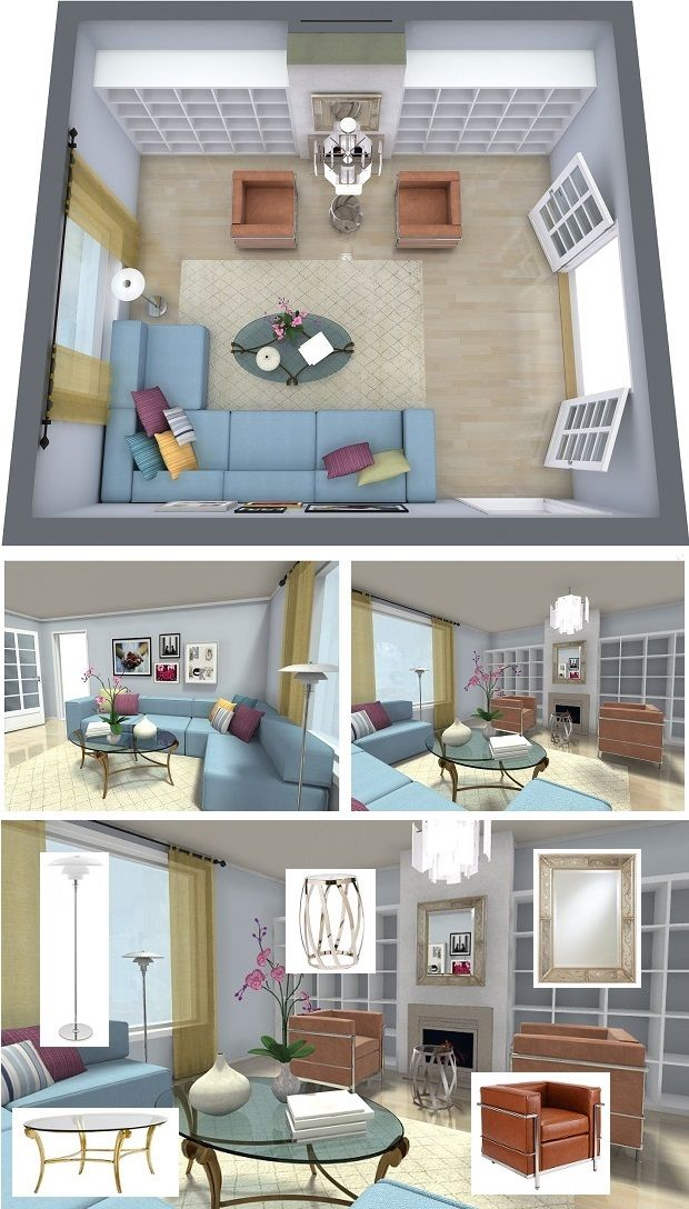 Take your interior design product sourcing to the next level with  RoomSketcher Home Design Software.