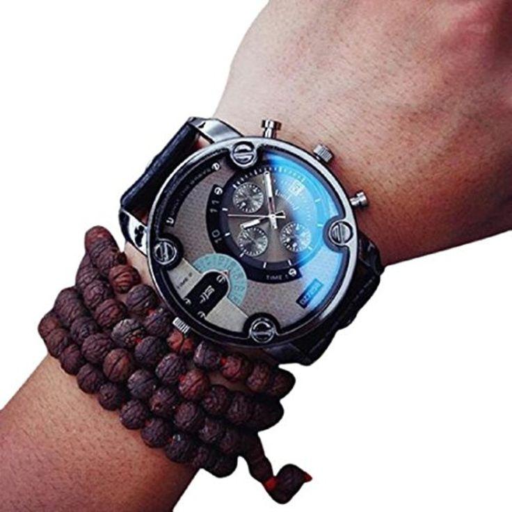 Eenkula Hommes Grand Cadran Quartz Analogique Calendrier Montre DéContracté Affichage Montre-Bracelet Faux Cuir 2017 #2017, #Montresbracelet http://montre-luxe-homme.fr/eenkula-hommes-grand-cadran-quartz-analogique-calendrier-montre-decontracte-affichage-montre-bracelet-faux-cuir-2017/