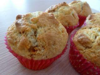 Muffins à la mangue séchée et à la noix de coco. J'avais envie de soleil dans ma cuisine...