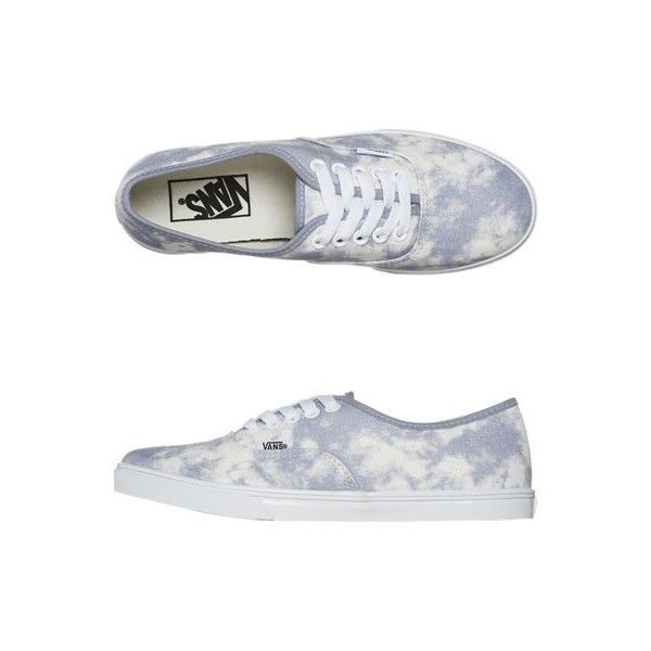 VANS AUTHENTIC LO PRO SHOE LIGHT PURPLE ACID WASH ($75) ❤ liked on Polyvore featuring shoes, sneakers, vans, zapatillas, laced sneakers, vans sneakers, vans trainers, skate shoes and vans footwear