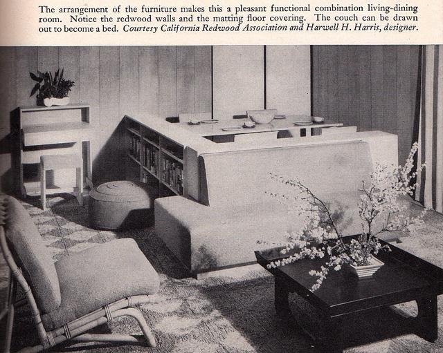 Home Furnishings Second Edition 1948 Anna Hong Rutt Mid Century Design Text Book