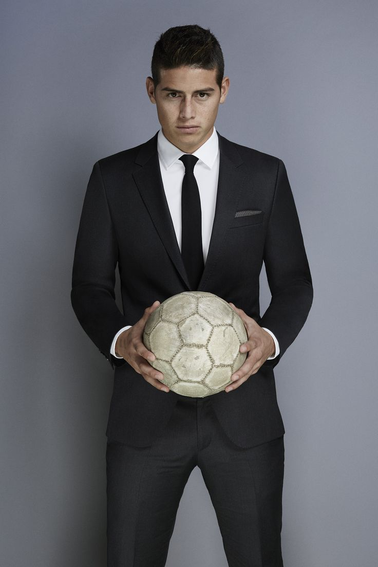 James Rodriguez for #BOSSBottledUnlimited #SuccessIsMade