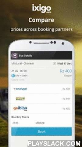 Bus Volvo Ticket Booking India  Android App - playslack.com , Get the best and cheapest deals on online bus tickets in India using the ixigo bus app! This free app lets you search and book deluxe, Volvo, A/C, sleeper and interstate road transport buses across the country. And there's more!- Compare fares and schedules across 21 different bus ticketing sites.- Easy searchability—just type in the destination name and get quick results.- Efficient browsing experience with multiple search…