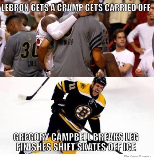 Not a Bruins fan at all, but this is part of the reason why I love hockey and why I will never be a basketball fan.