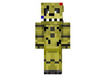 Скачать Скины Fnaf Для Minecraft - фото 8