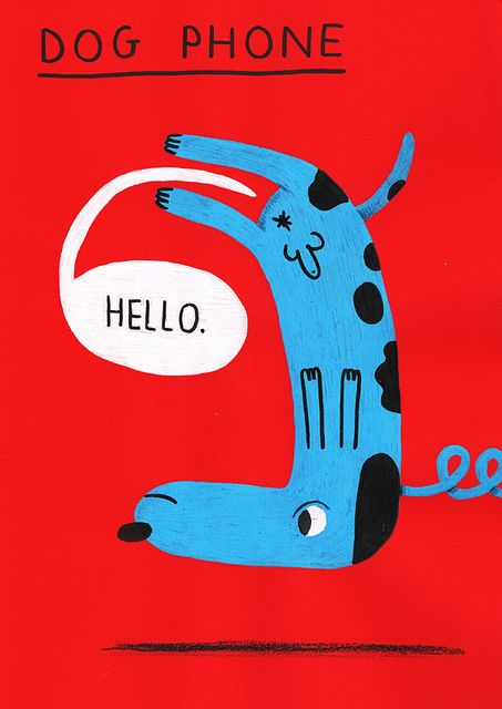 EXPO SEPTEMBER 2011 - dogphone -800 by mister_jangojim: Books Covers, Illustrations Dogs, Covers Books, Expo September, Dachshund Clube, Dogs Phones, Hello September Illustrations, Dogphon 800, September 2011