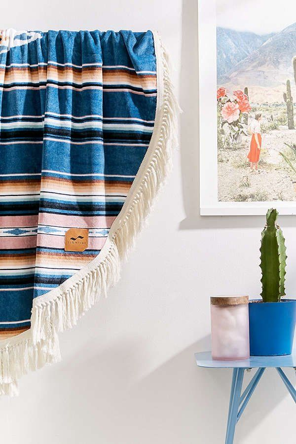 Slowtide Round Towel | Urban Outfitters
