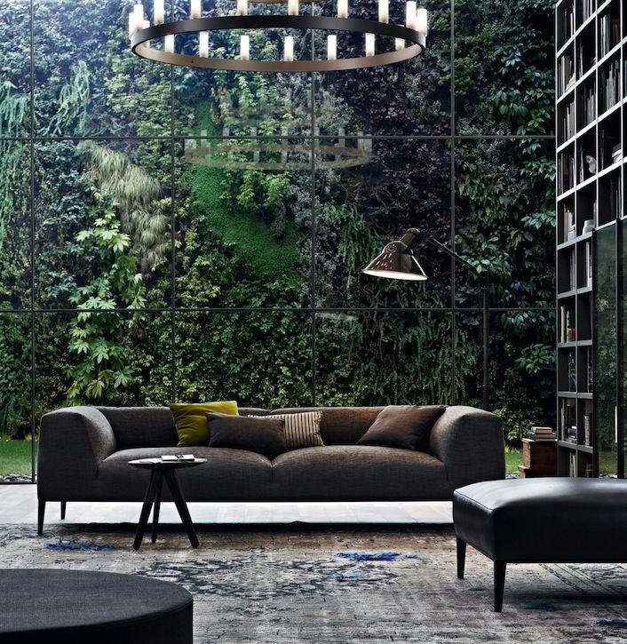Vertical garden wall. Yes!