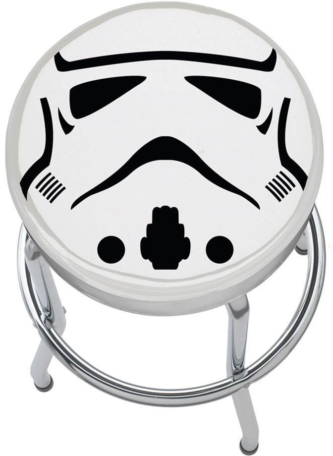 Storm Trooper Plasticolor Padded Garage Bar Kitchen Counter Shop Workbench Stool #PlasticolorInc #Novelty  sc 1 st  Pinterest : garage chairs stools - islam-shia.org