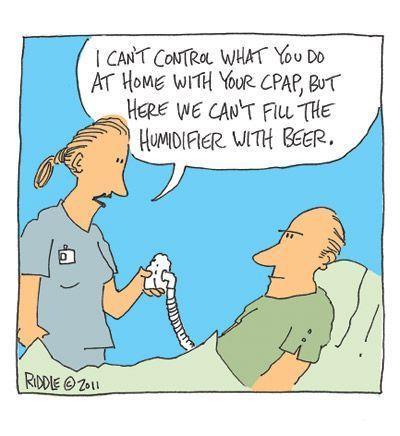 CPAP and Sleep Apnea — Respiratory Humor