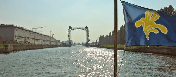 Waterbus - Le transport en commun du canal - Bruxelles