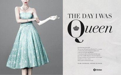 Oxfam Vintage Fashion: Big Apple, Queen, Lead Singer