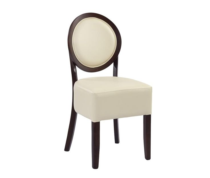 Ashbourne Spoon Back Dining Chairs Available In Brown Or Cream Faux Leather Quick Delivery Times