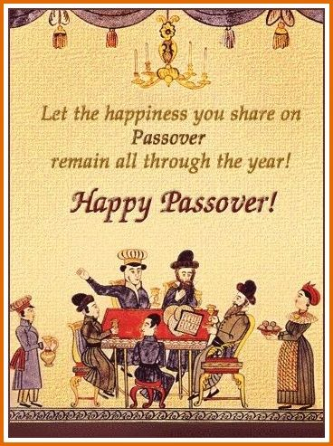 passover greeting in english
