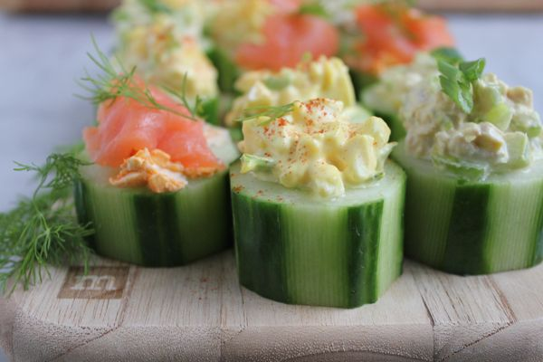 Quick and Easy Cucumber Bites . . Three Ways! So easy to make and perfect for a spring party! Top them with egg salad, tuna salad or smoked salmon and cream cheese! You've come to the right place today. Because I have these fantastic nibbles to share with you. After just spending a week with...Read More »