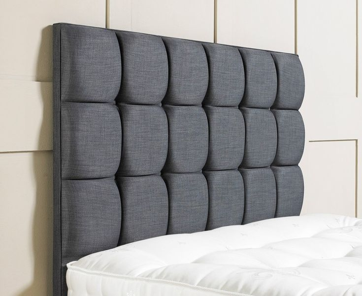 Latitude Run Branson Black Metal Platform Bed Frame: Best 25+ Grey Upholstered Headboards Ideas On Pinterest