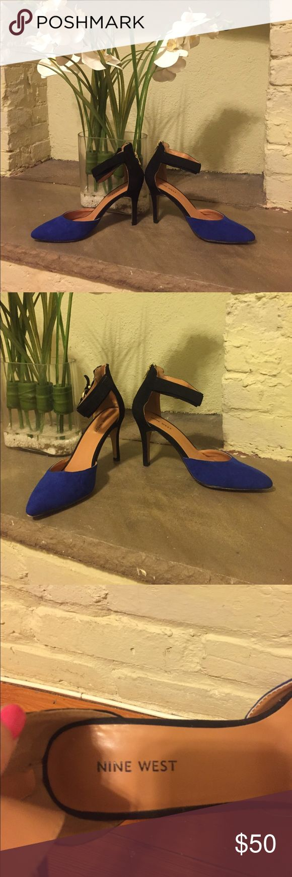 High heel shoes Nine West high heel shoes with ankle strap! Nine West Shoes Heels