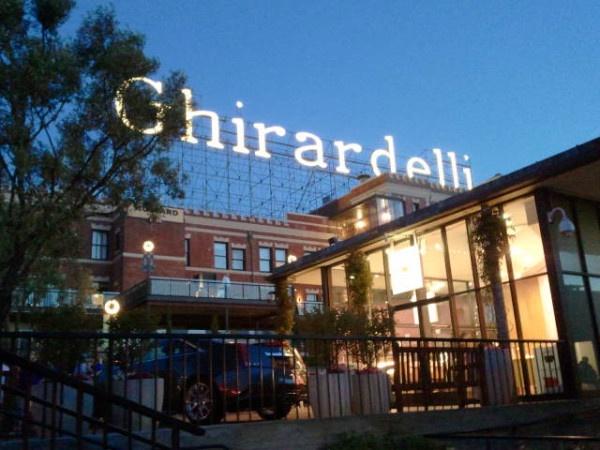 san francisco: Ghirardelli Square