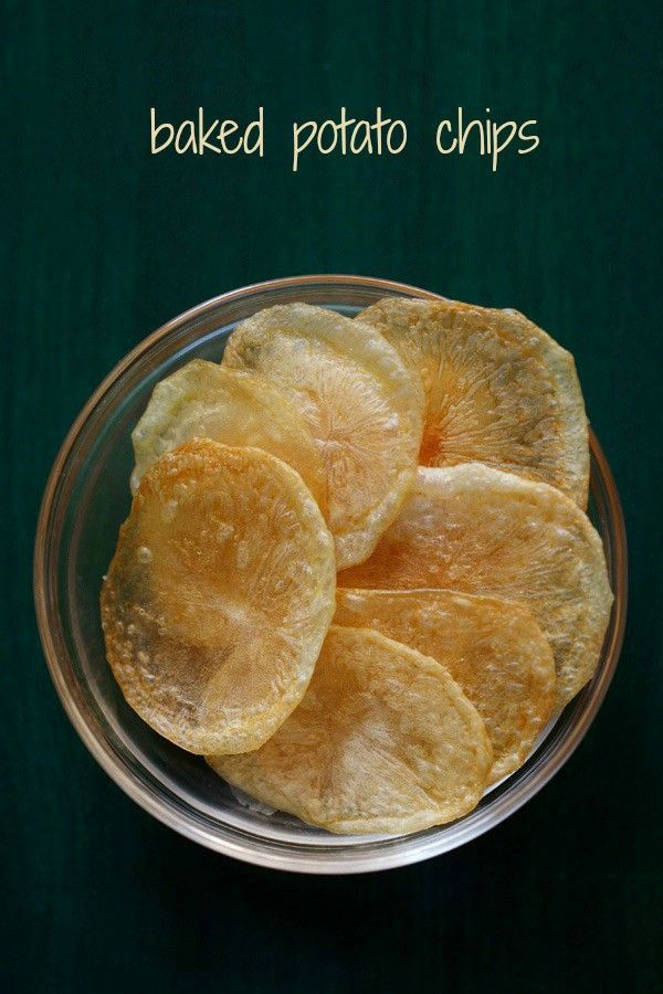 potato chips recipe with step by step photos. healthy baked potato chips or potato wafers. i also make dried potato chips in a similar way.