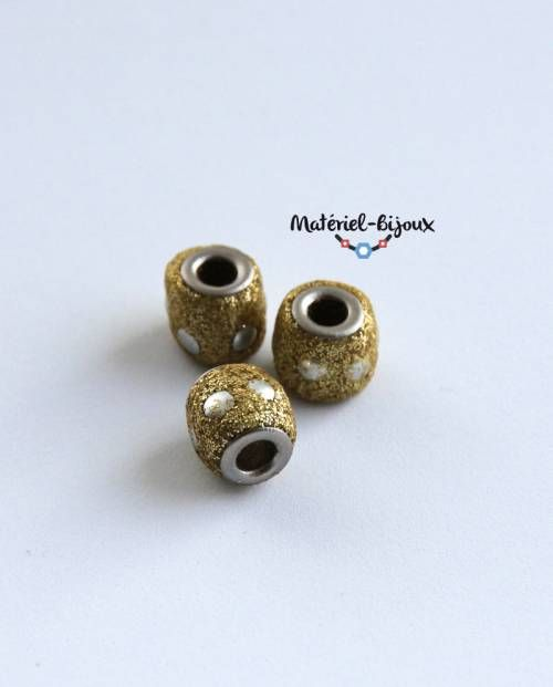 charms dorées 8mm de diamètre