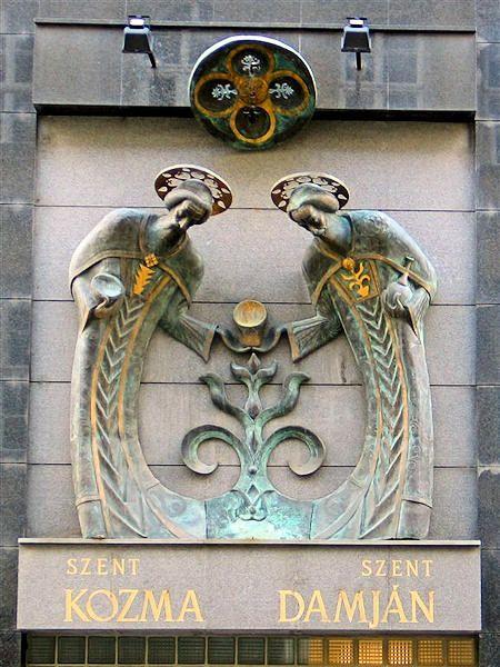 Art Nouveau Ornament ~ Budapest, Hungary