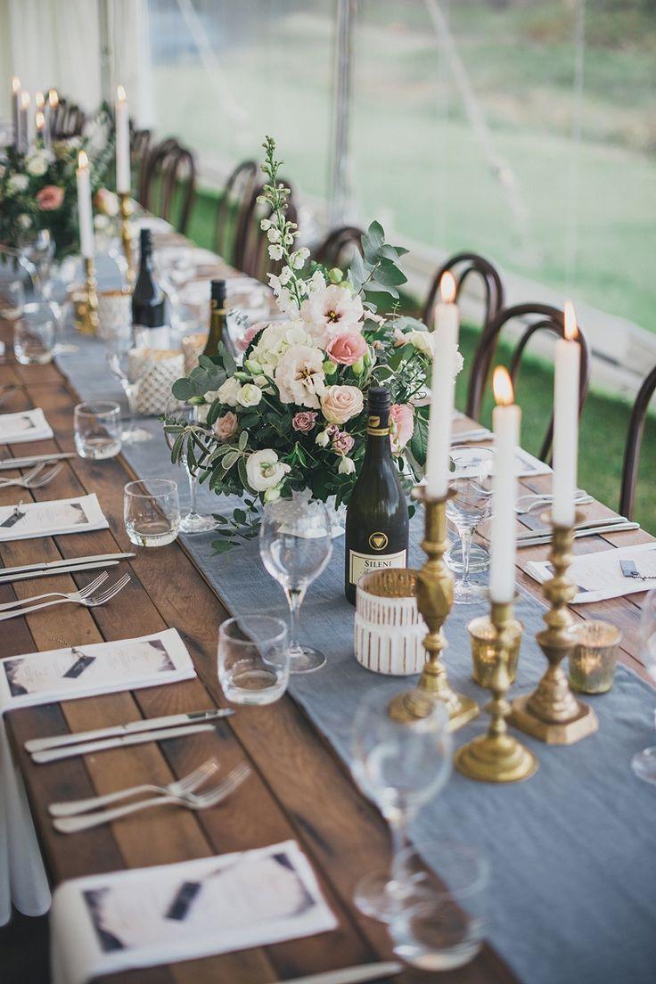 stylish campground wedding - new zealand - hawkes bay