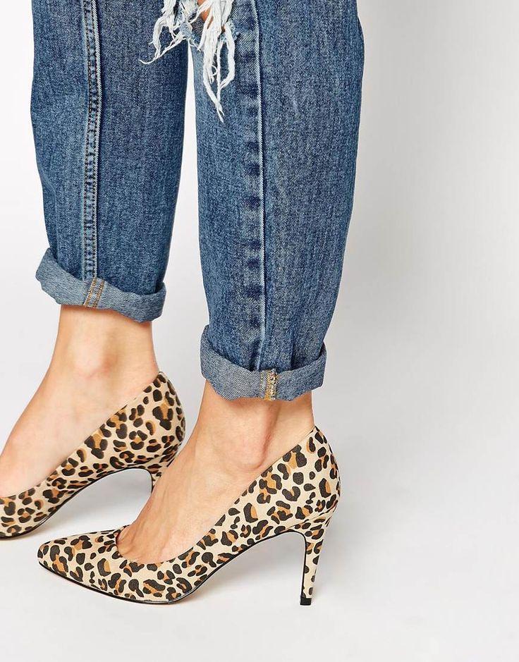 Carvela+Kirsty+Leopard+Court+Shoes