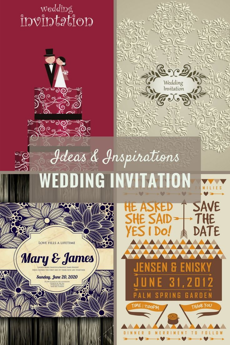 Perfect Wedding Invitation Ideas - Check-Out Our Wedding Invitation ...